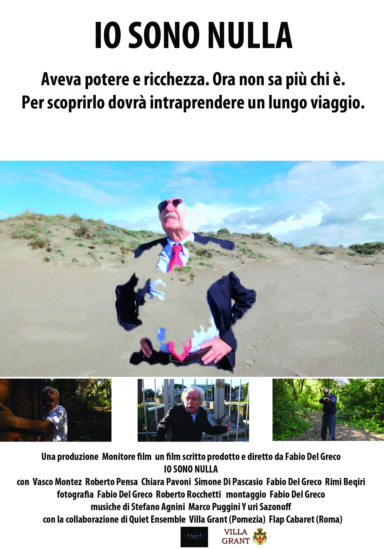 poster IO SONO NULLA