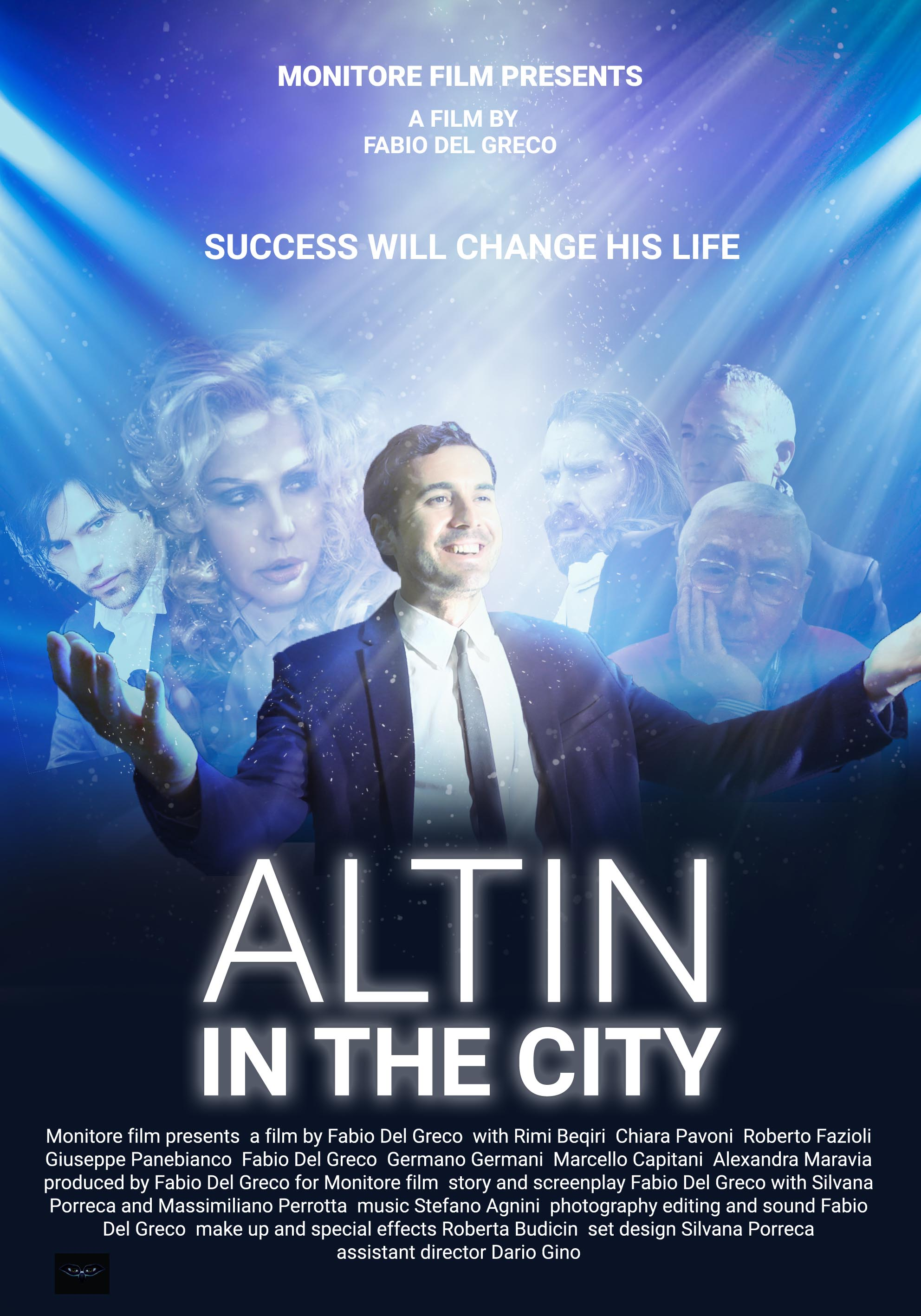 poster altin in the city
